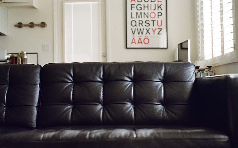Couch Furniture Leather 2689